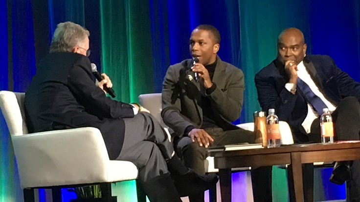 'Hamilton' actor Leslie Odom, Jr., shares life lessons at PMA Fresh Summit