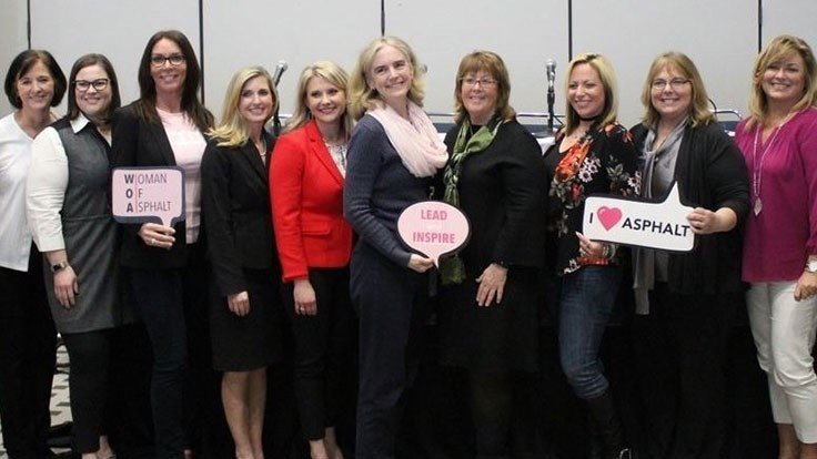 WofA features 100 women in asphalt industry