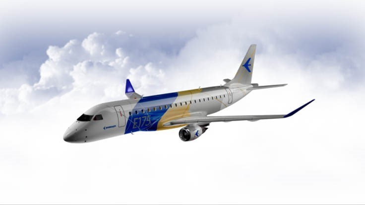 American Airlines orders 15 Embraer E175s