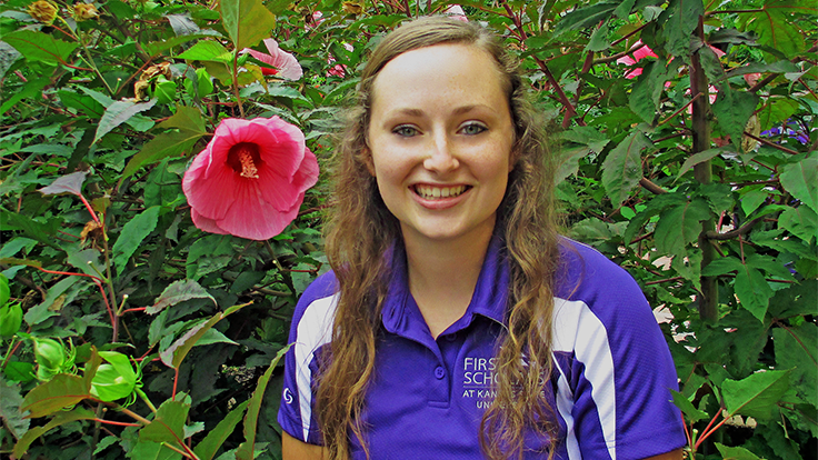 Kansas State horticulture student named Shinoda Scholar of the Year