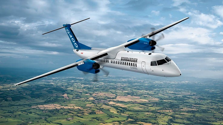 Bombardier sells off Q-series turboprop production, business aircraft training