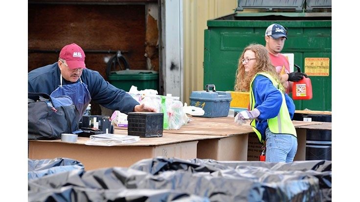 America Recycles Day brings Virginia town together