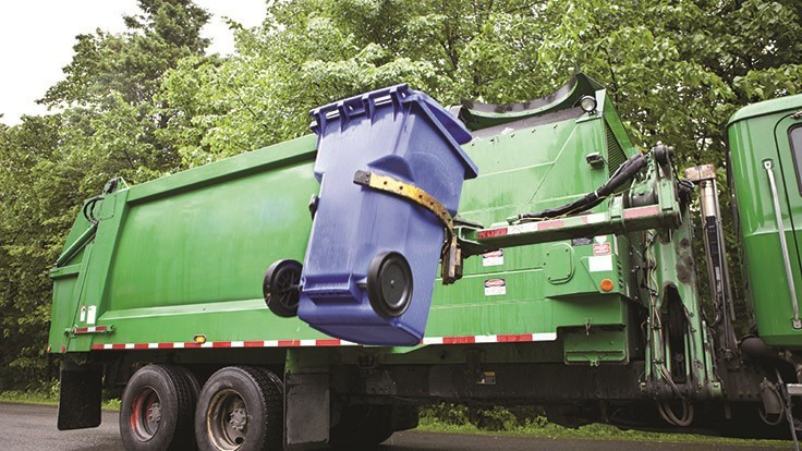 Implementing residential waste hauling contracts