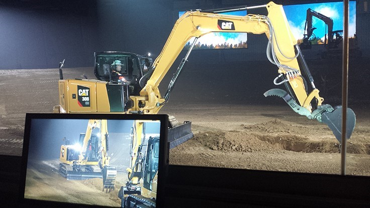Caterpillar touts new excavators, UTVs at press event