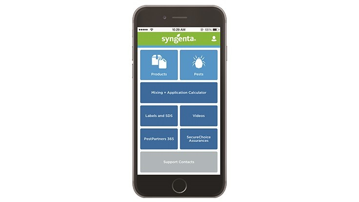 Syngenta Introduces Free Mobile App for Pest Control Information