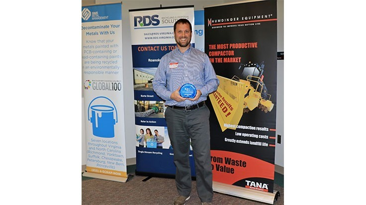 Virginia Recycling Association awards waste reduction, recycling programs