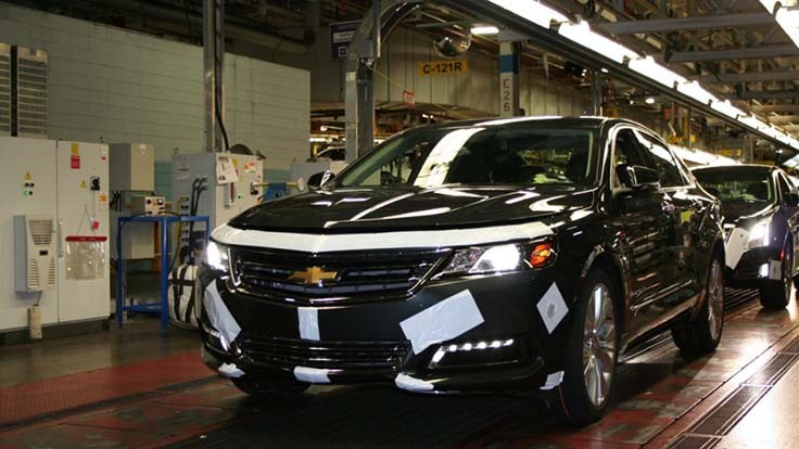 GM closing 5 North American plants, chopping nearly 7,000 jobs, slashing car production