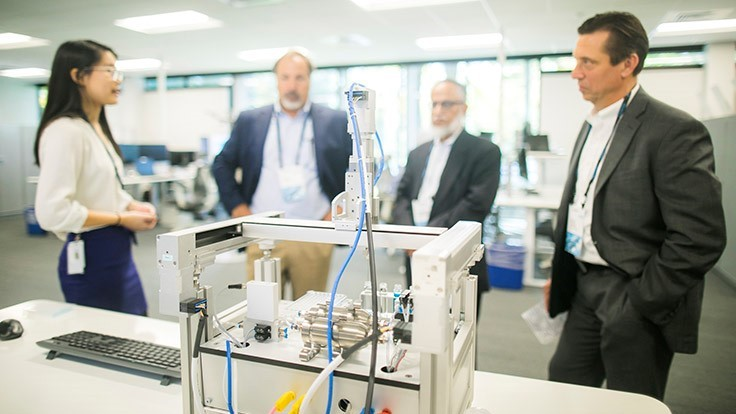 Manufacturing, life sciences at Festo Technology Engineering Center
