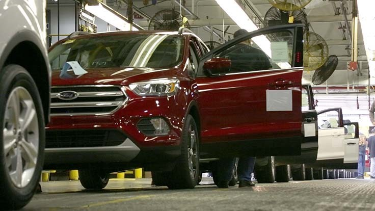 Ford boosts pickup, SUV production, cuts car output