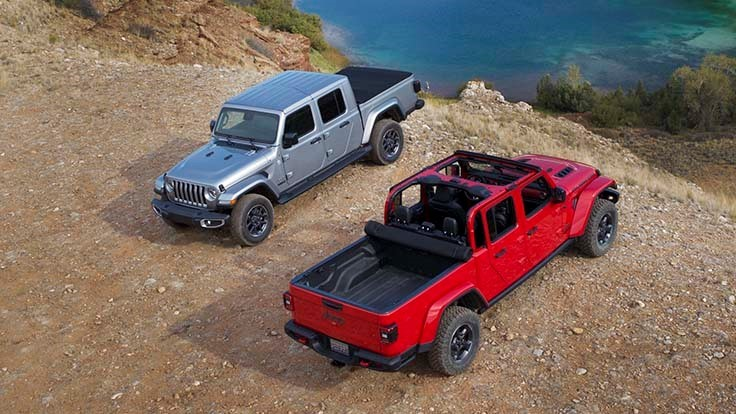 Jeep returns to the pickup market following 26-year hiatus