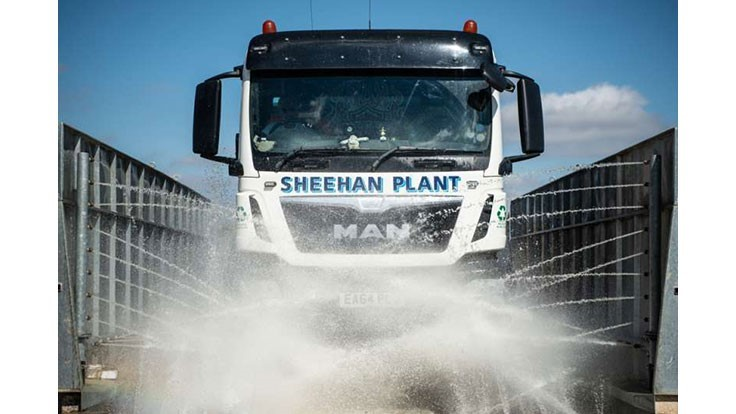 Sheehan Group invests in wheel washing technology