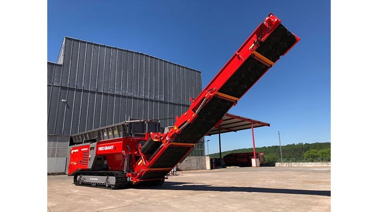 Hammel Recyclingtechnik GmbH introduces Red Giant at Pollutec