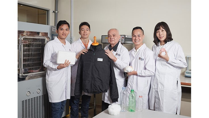 Researchers in Singapore develop aerogel from recycled PET bottles