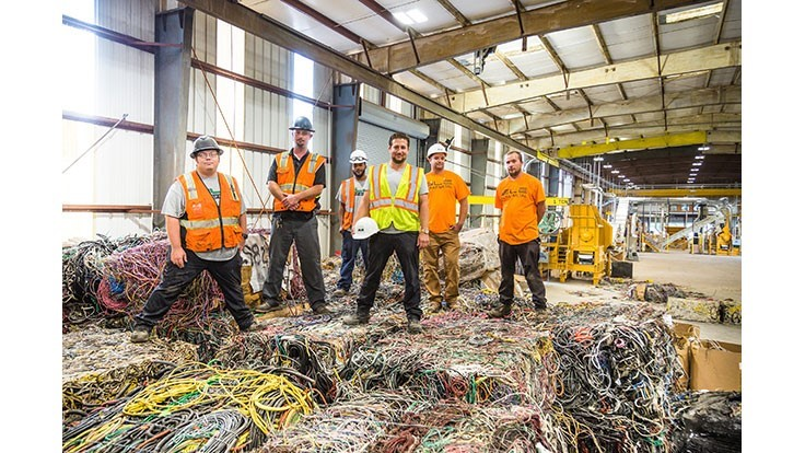 Wendt Corp. sells chopping line to GLE Scrap Metal