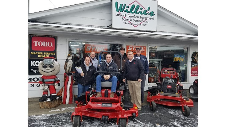 Ohio man wins Toro's Z Master mower giveaway