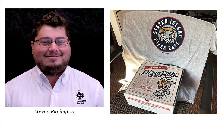 Tennessee PMP Rimington Wins Pizza Rat Shirt from PCT