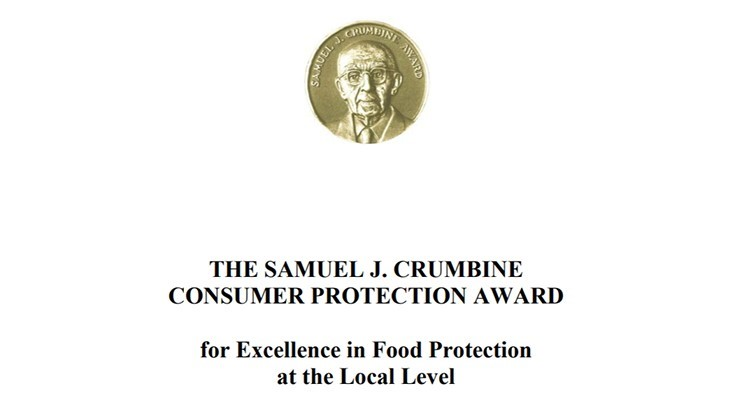 2019 Crumbine Award for Food Safety Nominations Now Open