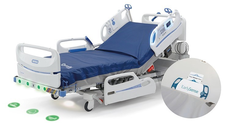 Hill-Rom, EarlySense patient monitoring technology for Centrella Smart+ Beds