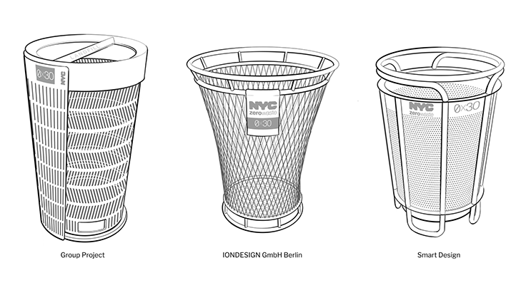 Three finalists chosen for NYC BetterBin competition