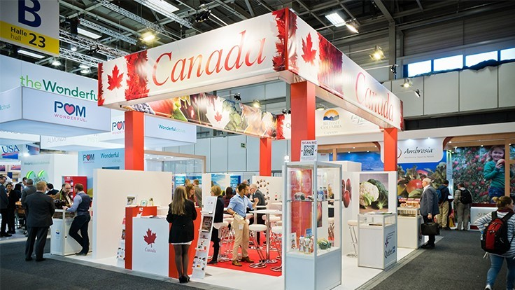 Canada returns to Fruit Logistica in Berlin in February 2019