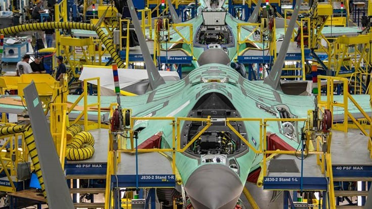 Lockheed Martin delivers 91 F-35s in 2018