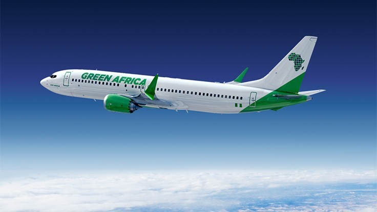Green Africa Airways commits for up to 100 Boeing 737 MAX aircraft