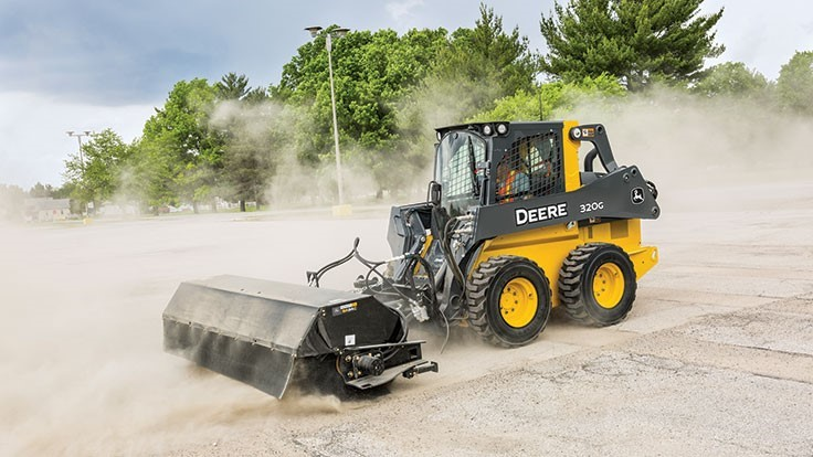 John Deere adds broom attachments to WorkSite Pro line