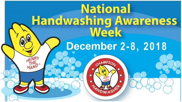 Clean Hands Count for National Hand Washing Awareness Week