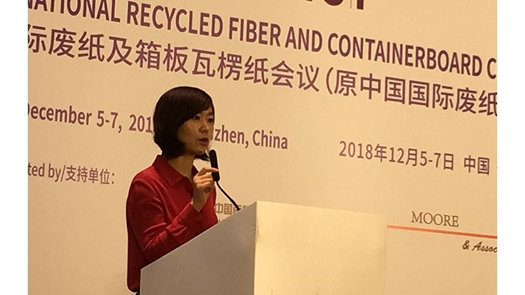 RISI China Conference: Shuffling the recovered fiber deck