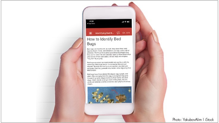OSU's Jones Develops Bed Bug Field Guide App