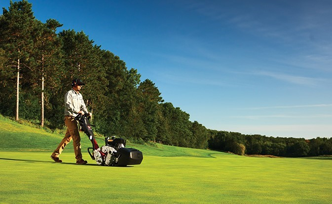 Toro introduces new walking greens mowers