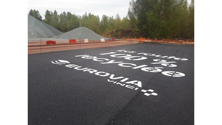 World's first 'fully recycled' road is built in France