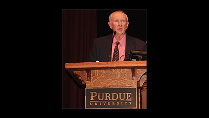 Dr. Gary Bennett Recognized at Purdue Conference