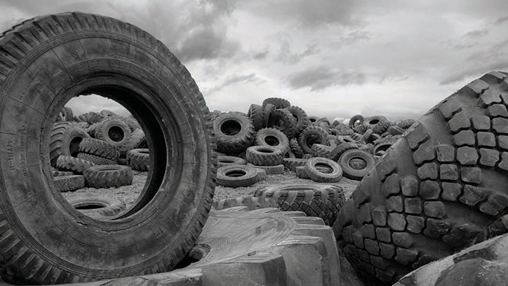 Businesses find new use for scrap tires