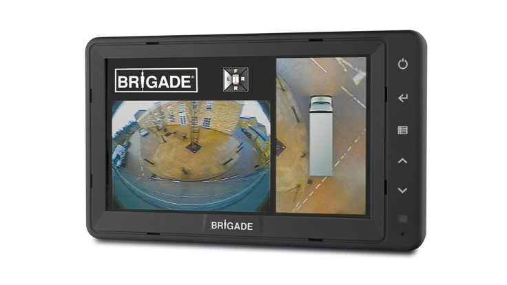 Brigade product addresses truck backup dangers