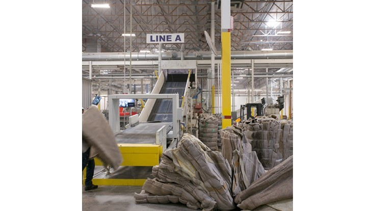 Aquafil opens first US carpet recycling plant