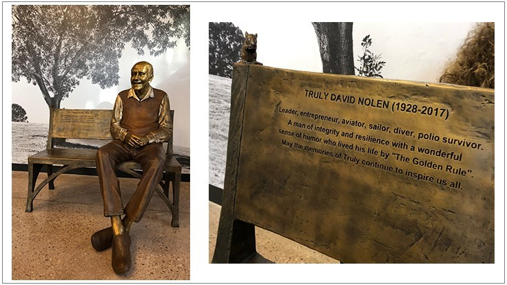 Bronze Statue of Truly Nolen of America Founder Unveiled
