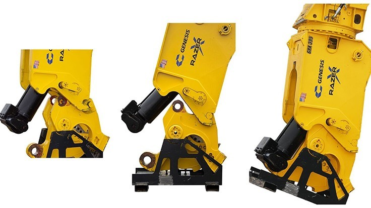 Genesis Attachments launches new Razer X Multi-Jaw Demolition Tool