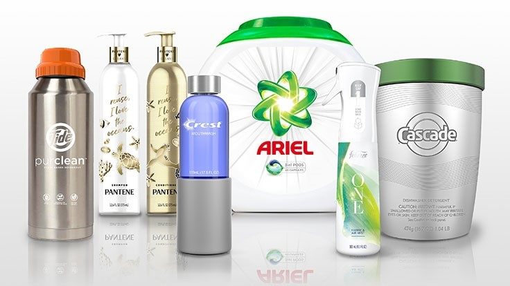 P&G releases refillable packaging