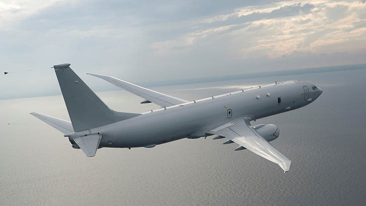 Boeing receives $2.4 billion US Navy P-8A Poseidon contract
