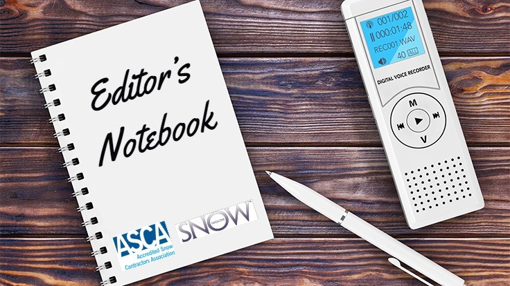 Editor's Notebook: Jan. 28, 2019