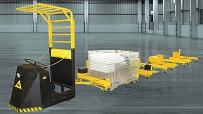 Industrial truck cart system