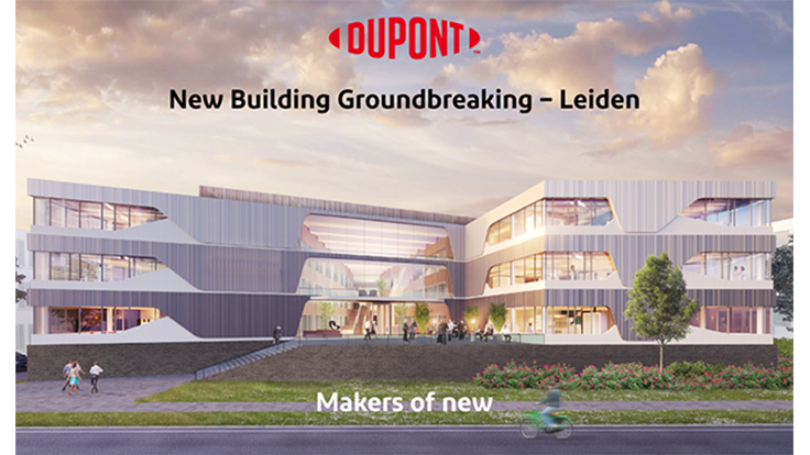 DuPont Breaks Ground on European Headquarters for Industrial Biosciences in the Netherlands