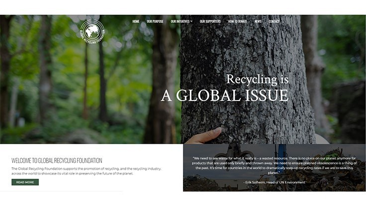 Global Recycling Foundation launches website