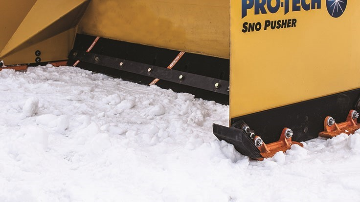 Winter Equipment Offers Rubber Cutting Edges