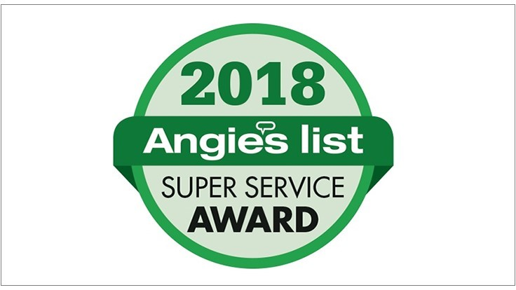 Several Firms Recognized with Angie's List Super Service Awards