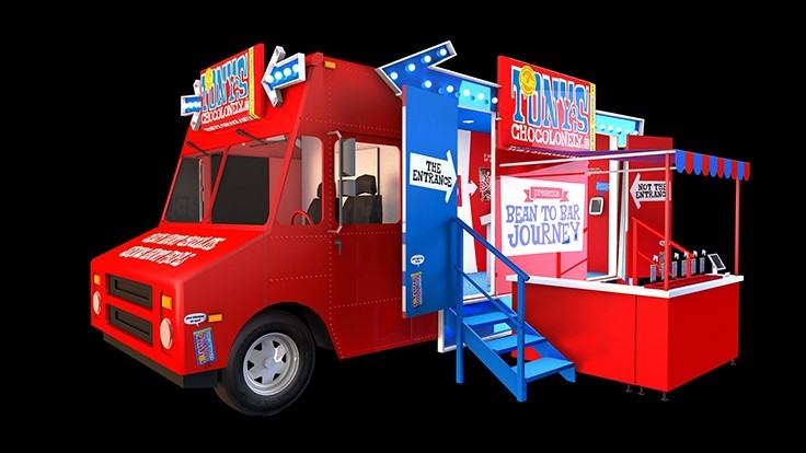 "Tony's Chocolonely To Conduct ""Chocotruck"" Road Trip"