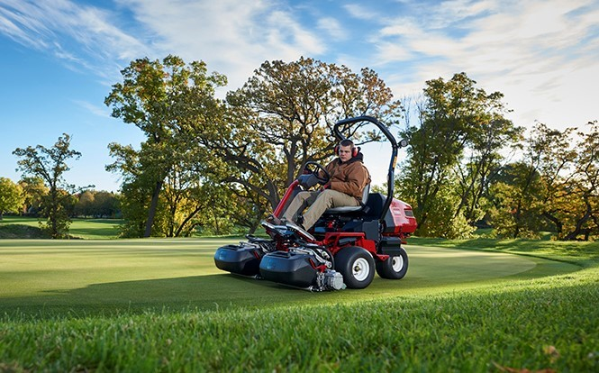 Toro introduces new all-electric riding greensmower