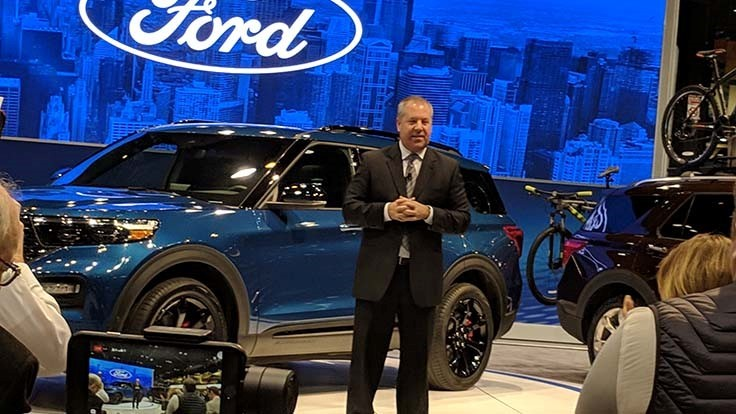 Chicago Auto Show: new vehicle reveals and Ford plans a $1 billion factory expansion in Illinois