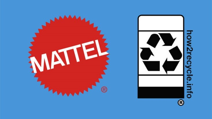 Mattel adds How2Recycle label to its packaging